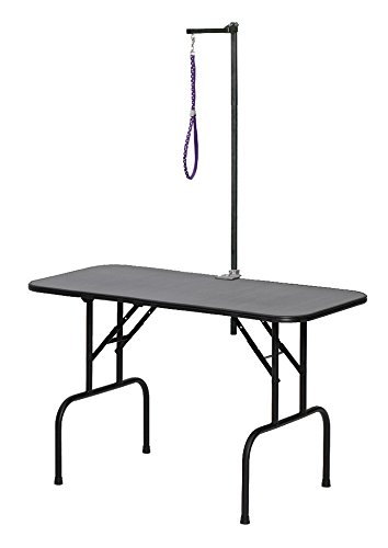 MidWest Homes for Pets G3624A Plywood Grooming Table with G3ZA48 Arm