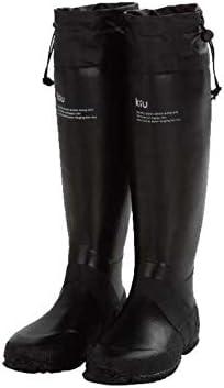 (Kiu) PACKABLE RAIN BOOTS メンズ パッカブル レインブーツ K35-BK LL