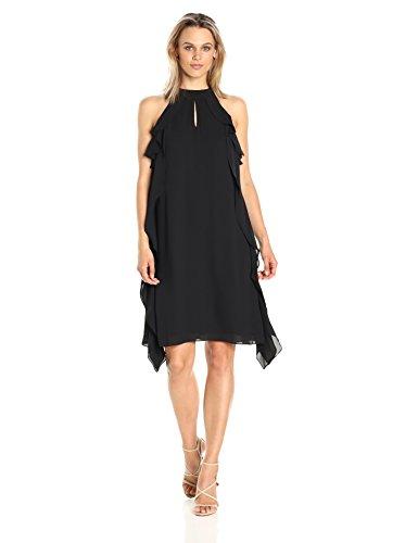 Georgette Ruffle Dress - 8
