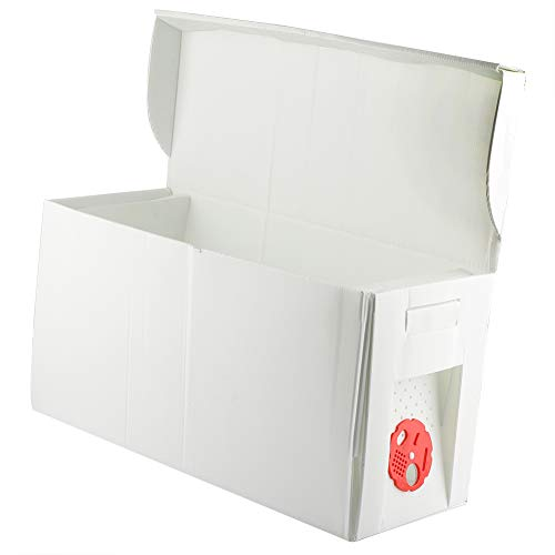 Cardboard Nuc Box -Holds 5 frames- good temporary hive
