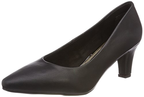 Black femme Avant 003 Noir Klain 787 Jane Chaussures à couvert pieds talons 224 du vqO7Y