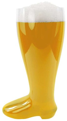 - 2 Liter Clear Plastic Beer Boot