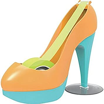 Scotch Expressions Tape Dispenser Shoe (Orange/Blue)