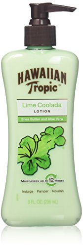 Hawaiian Tropic Lime Coolada Lotion with Shea Butter & Aloe Vera, 8 Fl Oz (2 Pack) ()