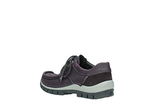 Seamy Wolky Purple Fly Lace up 10600 Winter Shoes Nubuck Comfort q1Ffw6