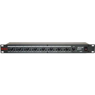 Rolls RM82 8 Channel Mic/Line Mixer by rolls