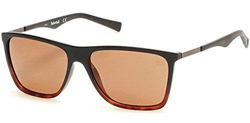 TIMBERLAND Sunglasses TB9108 52H Dark Havana / Brown - Timberland Polarized Sunglasses