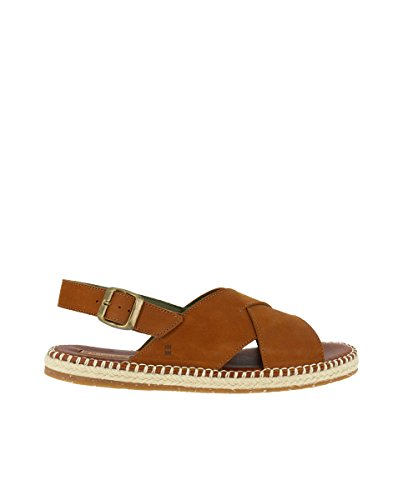 Nautilus El Leather Man Pleasant Wood N5362 Sandals Naturalista Buckle FwInqISU