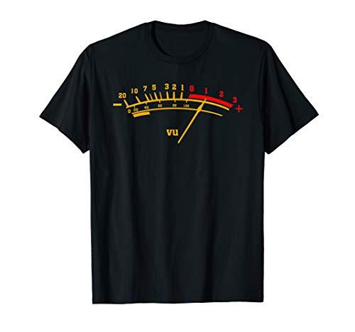VU Meter T Shirt Sound Engineer