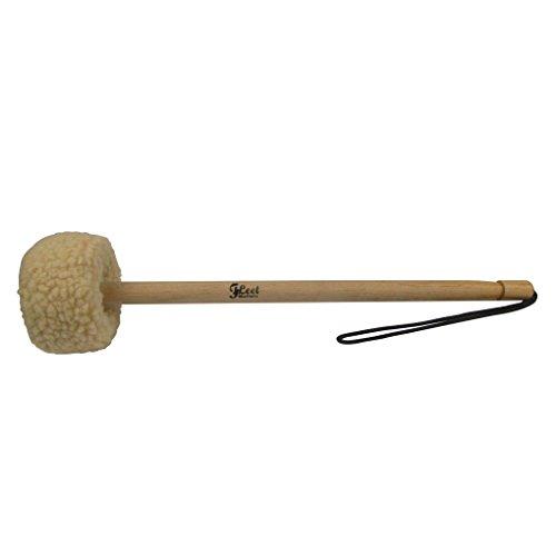 IKN 1pcs Gong Mallet Small 5545-Wood Core,Wool