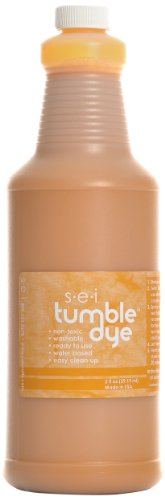 Sew Easy Industries Tumble-Dye Bottle, 1-Quart, Sports Gold by Sew Easy Industries