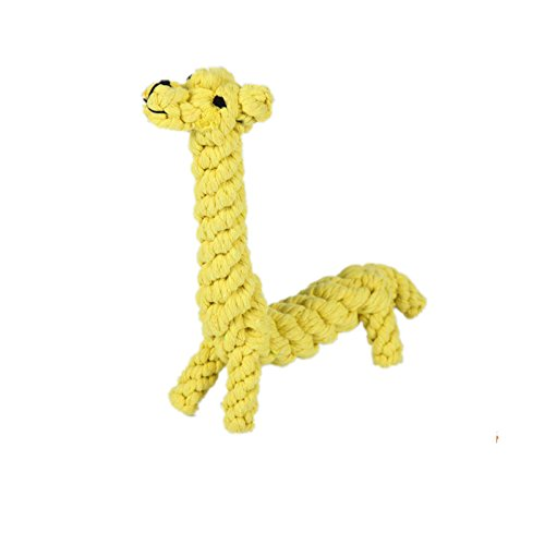 Nynoi rope giraffe dog toyTraining Dog Teeth Clean And Durable Bite Ball Toys Small - Sunglasses Kpop