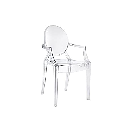 Kartell Sedia Louis Ghost colore trasparente cristallo: Amazon.it ...