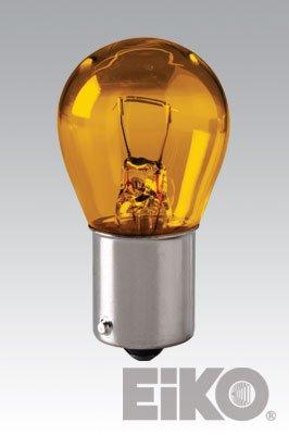 **10 PACK** Eiko - 1156A Miniature Light Bulbs, (Amber Miniature Eiko Light Bulb)