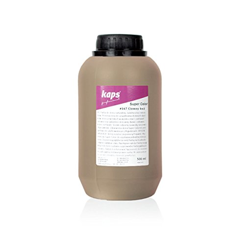 Dye Paint For Leather and Textiles, 500ml - 16.9 fl. Oz. (167 - dark beige)