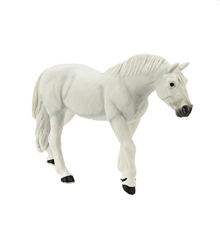 Safari Ltd Winner's Circle Collectibles - Lipizzaner Stallion - Educational Hand Painted Figurine - Quality Construction from Safe and BPA Free Materials - For Ages 3 and Up