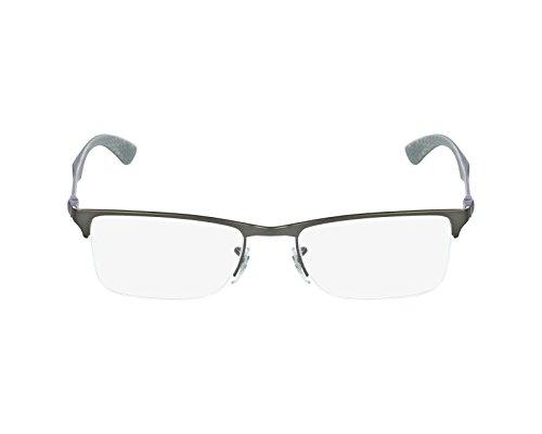 Ray Ban eyeglasses RX8413 2851 Carbon Fiber Purple - Grey - Carbon Prescription Eyeglass Fiber Frames