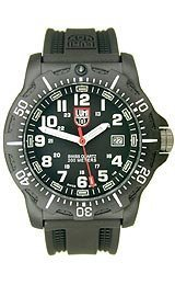 Luminox Men's EVO Navy Seal 8801 Black Rubber Swiss Quartz Watch