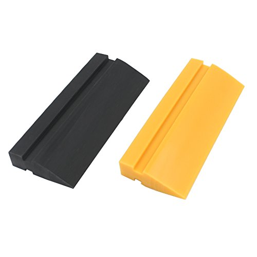 Soft Grip Squeegee - EEFUN Soft Rubber Squeegee blade for Car vinyl wrapping, window tint film installation, car decal tool. Home Glass/Mirror/Window Cleaning as Water blade.