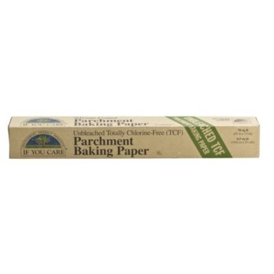 Unbleached Compostable Greaseproof Baking Parchment Paper Roll (33cm x 20m) by If You Care