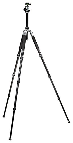 Camlink 28mm Line Diameter Professional Tripod - Silver by Camlink (Image #3)