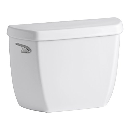 Wellworth Classic 1.0 GPF Toilet Tank with Left-Hand Trip Lever, White by Kohler