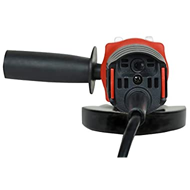iBELL AG10-70, 850W,4-INCH, 11000RPM Angle Grinder W/Back Switch, 1 Grinding Wheel,1 Wheel Guard, 6 Months Warranty 11
