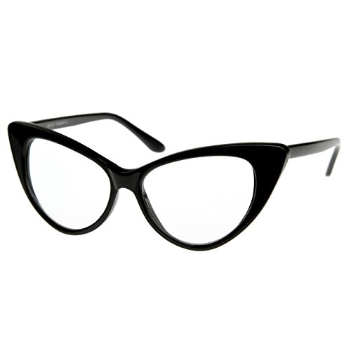 MLC Eyewear ® ' Embreeville' Cat eye Fashion Sunglasses (Black, - Eye Eyewear