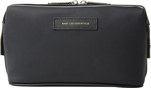 WANT Les Essentiels Unisex Kenyatta Nylon Dopp Kit Black One Size