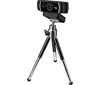 Logitech HD C922 Pro Stream Webcam, 1080p Camera Streaming Webcam, Records Streams Your Gaming Sessions in Rich HD Streaming, Background Replacement Tripod Included (B07JGCBXYY)   Amazon price tracker / tracking, Amazon price history charts, Amazon price watches, Amazon price drop alerts