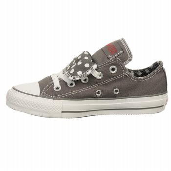 Converse CT DBL Tongue OX Grey Polka Dot outlet authentic buy cheap countdown package buy cheap the cheapest pre order sale online gcr5XijyWf