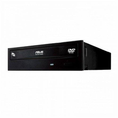 Asus Storage DVD-E818AAT/BLK/B/GE DVD-ROM E818AAT 18X SATA Black Bulk Retail by ASUS
