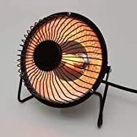 DEZIINE New Winter Warmer Mini Desktop Electric Heater for Home & Office (4 inch)