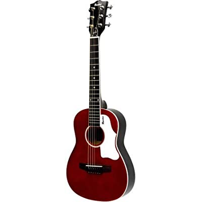 "Maestro By Gibson 30"" Mini-Acoustic Guitar with Gig Bag, Red"