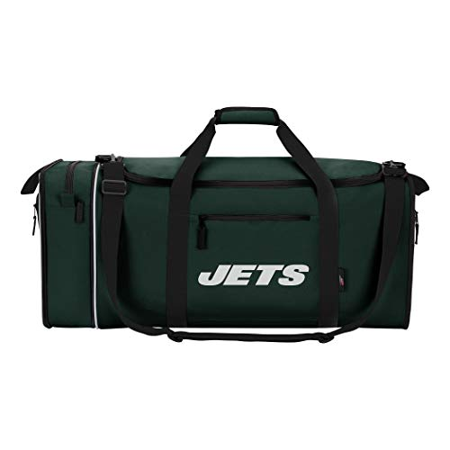 The Northwest Company NFL New York Jets NFL Steal Duffel, Green, Measures 28'' in Length, 11'' in Width & 12'' in Height by The Northwest Company
