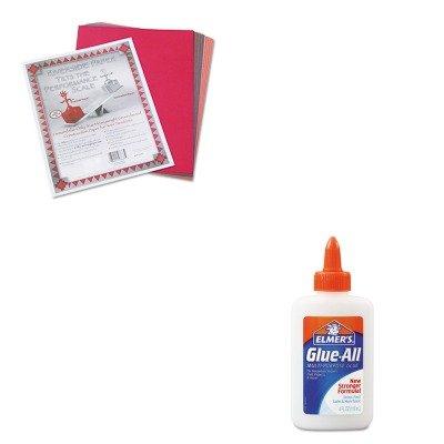 KITEPIE1322PAC103637 - Value Kit - Elmer's Glue-All White Glue (EPIE1322) and Pacon Riverside Construction Paper (PAC103637)