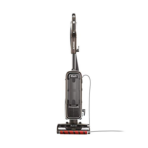 Shark APEX Upright Vacuum with DuoClean for Carpet and HardFloor Cleaning, Zero-M Anti-Hair Wrap, & Powered Lift-Away with Hand Vacuum (AZ1002), Espresso (Renewed)