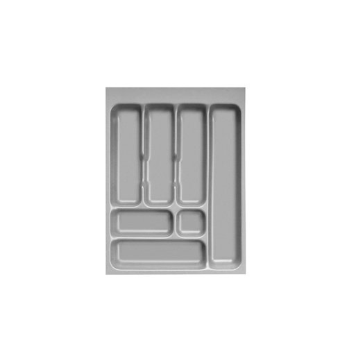 Besteckeinsatz f/ür Grass-Ausz/üge Ausz/üge B 360 mm x L 480 mm mit 7 Facheinteilungen Besteckkasten f/ür 45er Auszug