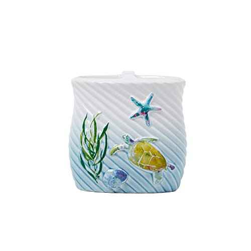 SKL Home by Saturday Knight Ltd. Watercolor Ocean Toothbrush Holder, Multicolored