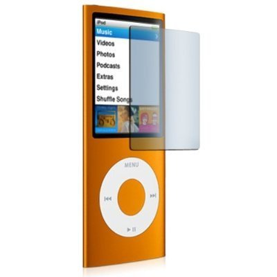 - New LCD Screen Protector for Apple iPod Nano 4th Generation
