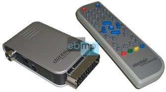 Mini - TV Scart dvb-t - receptor para mando a distancia para receptor M.: Amazon.es: Electrónica