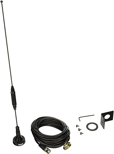 Tram 1091-BNC Scanner Trunk/Hole Mount Antenna Kit with BNC-Male Connector, 19.00in. x 5.25in. x - Kit 800 Mhz