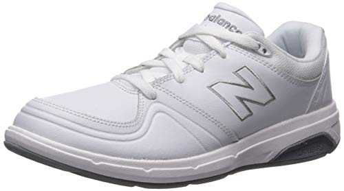 New Balance Women's WW813 Walking Shoe, White, 11.5 D US