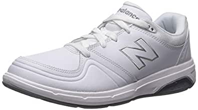 New Balance Women's WW813 Walking Lace Shoe, White, 6 2E US