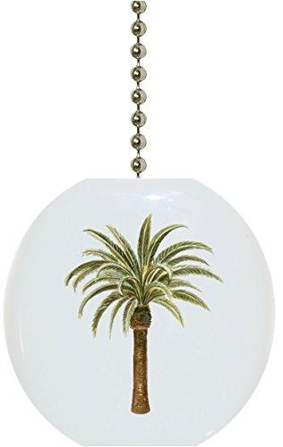 - Palm Tree Ceramic Fan Pull