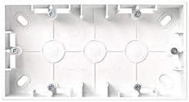 Simon Caja Electrica Superficie Doble Abs Blanca Simon15 B