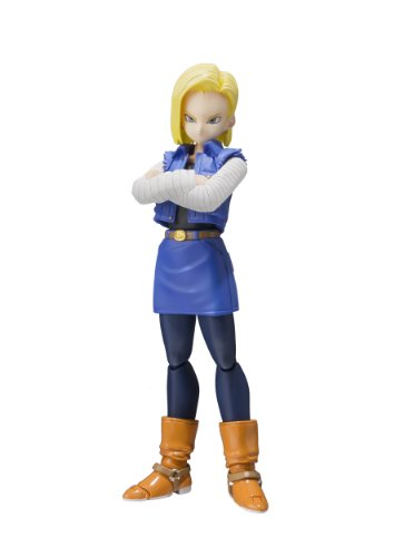 "Bandai Tamashii Nations S.H.Figuarts Android 18 ""Dragon for sale  Delivered anywhere in USA"