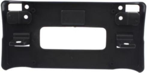 CPP Front Textured Black License Plate Bracket for 2008-2012 Honda Accord HO1068112