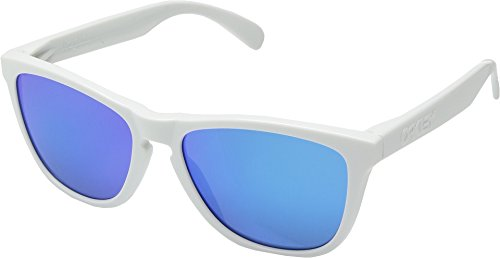 Oakley  Men's MPH Frogskins Polished White/Sapphire One - Website Oakley Sunglasses