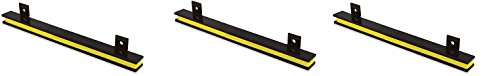 Master Magnetics AM2PLC Magnetic Tool Holder, 13'' Wide, 20 lb per inch, Black Powder Coat with Yellow Stripe (3-Pack)